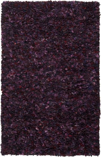 Talk about texture, this wool rug is hand woven mixing purples, blues, and mauves into a deep, rich plush rug for your home. From the Hobo Collection. #Surya (HOBO-3005)