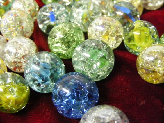 Cracking Marbles