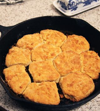 Mrs. Kay (Duck Dynasty) Quick Biscuits Recipe