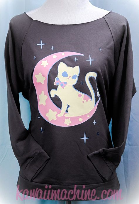 Hey, I found this really awesome Etsy listing at https://www.etsy.com/listing/206432936/moonlight-kitty-crescent-moon-and-stars
