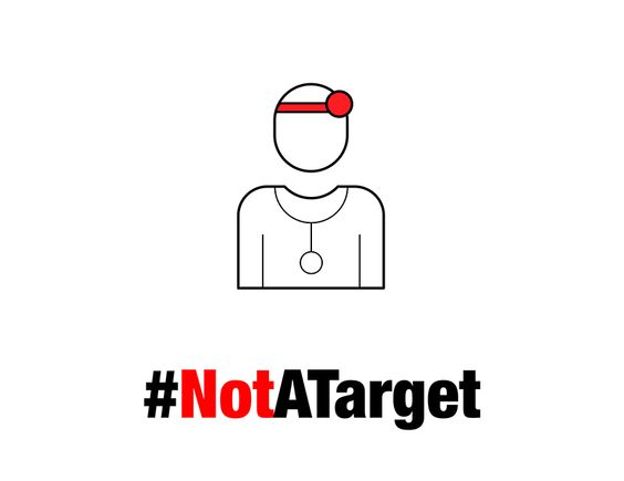 #NotATarget   Doctors Without Borders Canada/Médecins Sans Frontières (MSF) Canada