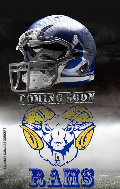 Rams Helmet 2 | Flickr - Photo Sharing!