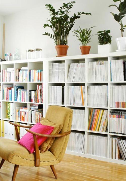 Estanter a kallax deco ideas y plantas - Estanteria baja ikea ...