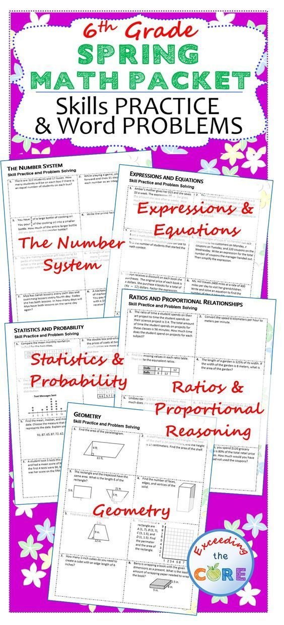 What are some Common Core standards assessed in an eighth grade math class?