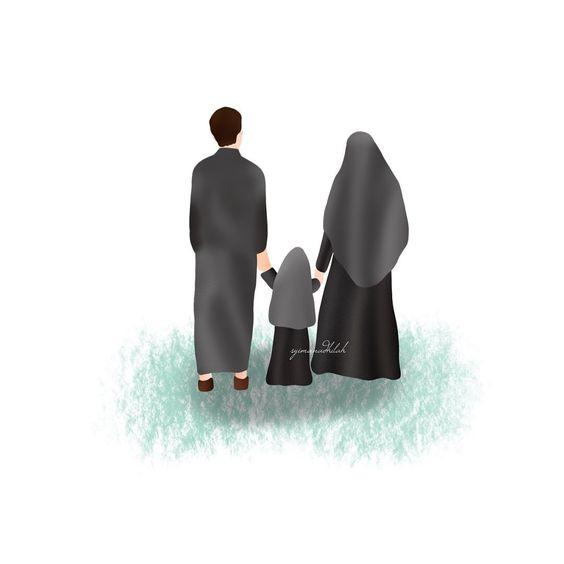 Kumpulan Gambar Kartun Muslimah 14