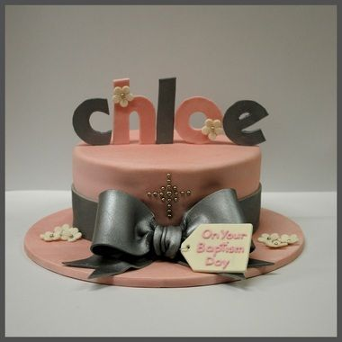 Love the name on top of the cake!