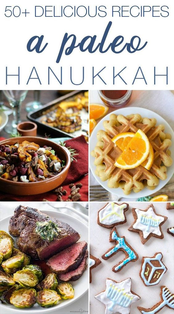 A Paleo Hanukkah :: 50+ delicious ways to celebrate!
