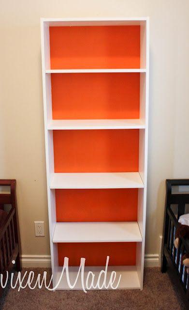ikea bookshelf makeover! diy   arredamento e idee per la casa ... - Casa Diy Arredamento Pinterest