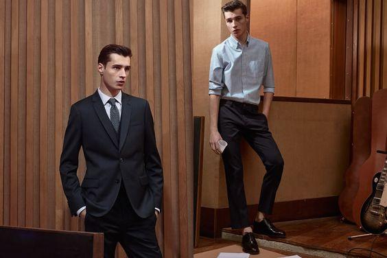 De Fursac Spring/Summer 2016 Men's Lookbook | FashionBeans.com