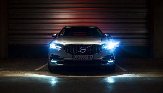 Volvo Car Light 4k Wallpa Car Light Volvo Cars Car