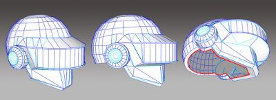 Paperized: Daft Punk Paper Helmet