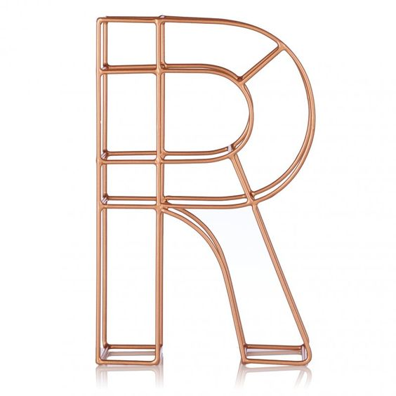 Copper Alphabet Letter  Fun Copper And Alphabet Letters