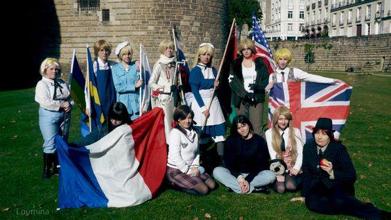 Hetalia France Cosplay