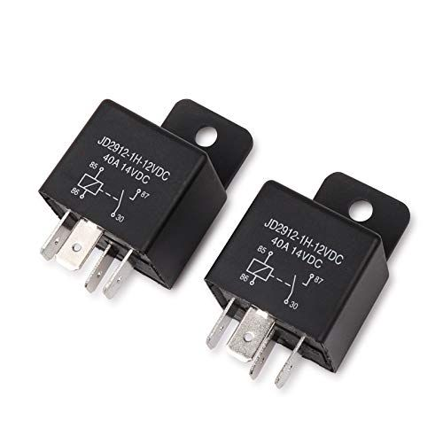 Ehdis Car Relay 4 Pin 12v 40amp Spst Model No Jd2912 1h 12vdc 40a 14vdc Auto Switches Starters 2 Pack Relay Ebay Cars Car Accessories