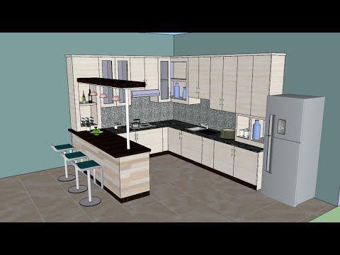 Sketchup Tutorial Interior Design Kitchen Youtube Kitchendesignyoutube Interior Design Kitchen Interior Design Software Kitchen Design