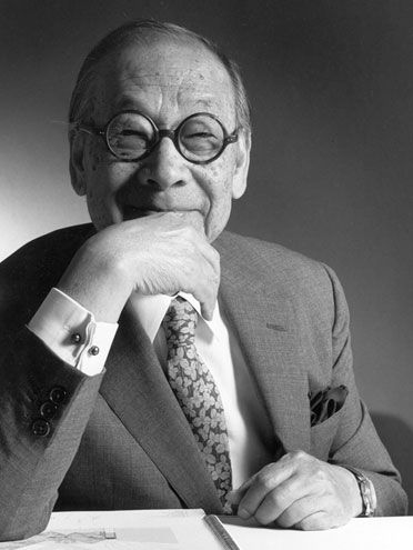 """""""I believe that architecture is a pragmatic art. To become art it must be built on a foundation of necessity."""" — I.M. Pei, from his acceptance speech for the 1983 Pritzker Architecture Award."""