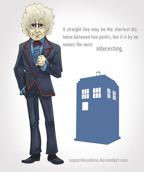 3rd Doctor by ~SupaCrikeyDave