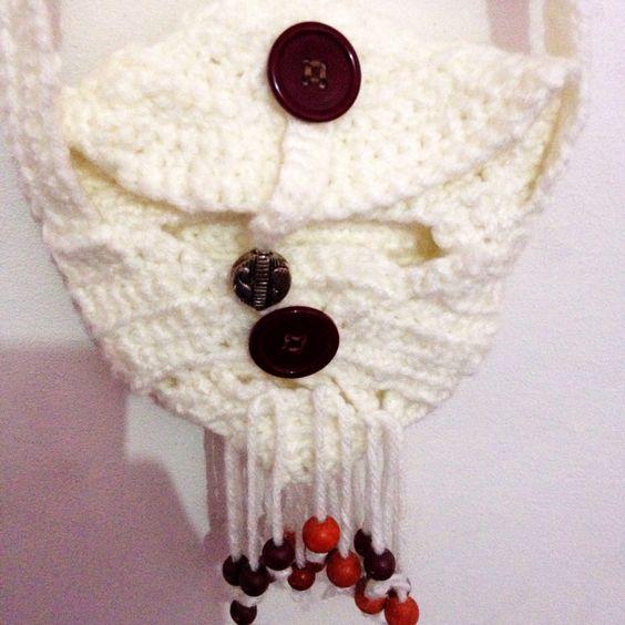 Bolsa pequeña-crochete