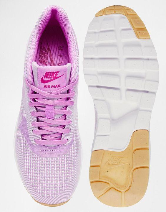 nike shorts corée - Image 3 - Nike - Air Max 1 Ultra - Baskets jacquard - Rose | Shoes ...