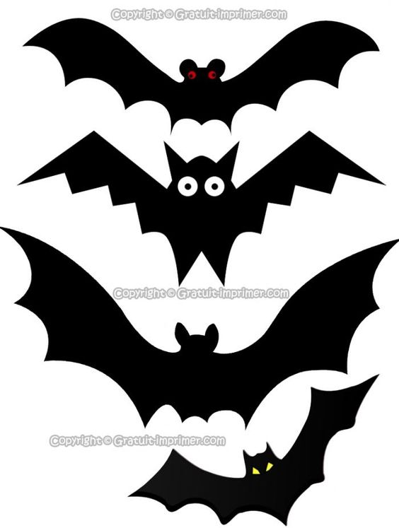 CHAUVE-SOURIS IMAGES GRATUIT A IMPRIMER POUR HALLOWEEN  Halloween ...