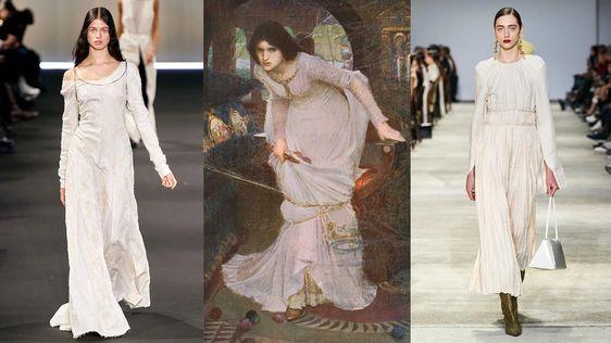 За вдохновением дизайнеры обратились к работам мастеров эпохи Ренессанса и их последователям