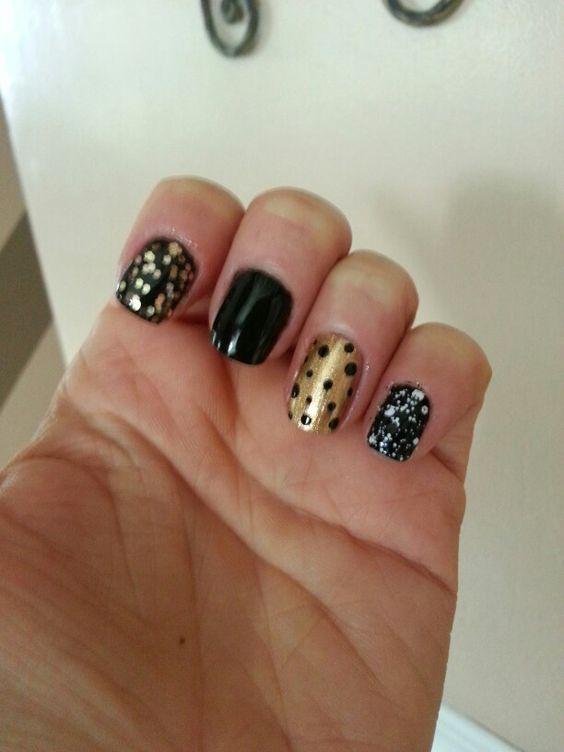 Iowa Hawkeye nails!