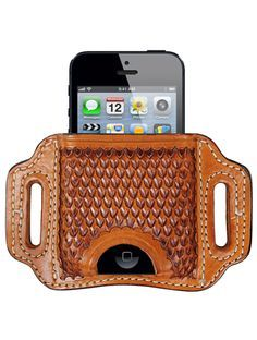 27. BH-iPhone Raptor iPhone Leather Holster for models 4, 4S & 5-SR