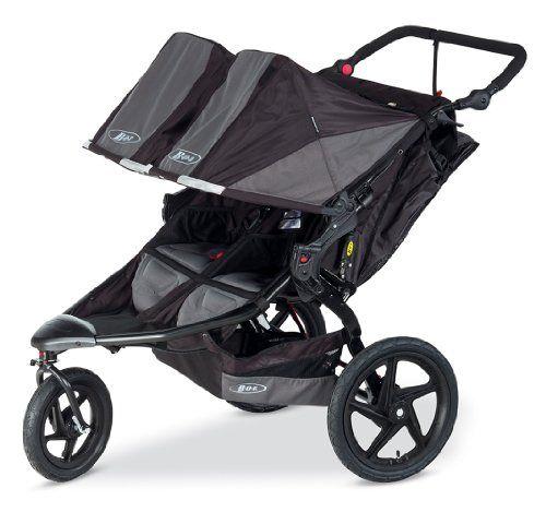 BOB Revolution Flex Duallie Stroller, Black