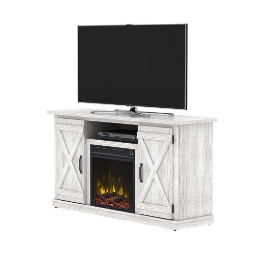 Lorraine Tv Stand For Tvs Up To 55 With Electric Fireplace Included Fireplace Tv Stand Electric Fireplace Tv Stand Fireplace Tv