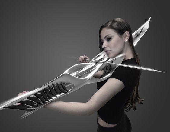 Un incroyable violon sorti tout droit d'un film de SF, grâce à l'impression 3D ! (photos)