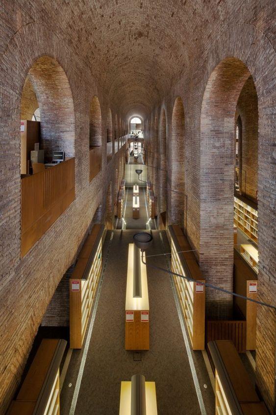 Les Aigues Library, by Clotet+Aparicio © Simon García