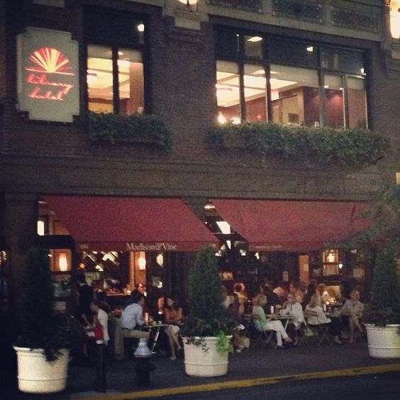 Loving the weather this week in NYC! If cocktails on our rooftop aren't your thing how about al fresco dinner along Madison Avenue & Library Way? #library #boutiquehotel #madisonave #midtown #bryantpark