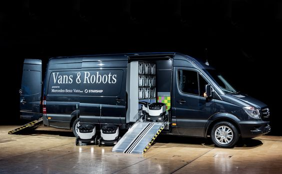 Mercedes-Benz wants robots to deliver goods in your neighborhood
