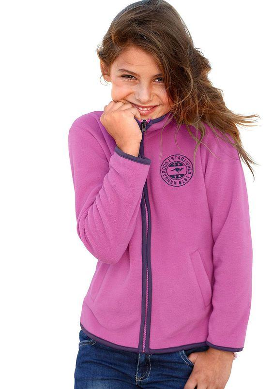 Produkttyp , Fleecejacke, |Qualitätshinweise , Hautfreundlich Schadstoffgeprüft, |Materialzusammensetzung , Obermaterial: 100% Polyester, |Material , Fleece, |Farbe , Pink, |Passform , Schmale Form, |Schnittform/Länge , hüftlang, |Schnittdetails , Einsätze kontrastfarbig, |Ausschnitt , Kapuze, |Kragen , Stehkragen, |Ärmelstil , Langarm, |Armabschluss , Kante eingefasst, |Saumabschluss , Kante e...