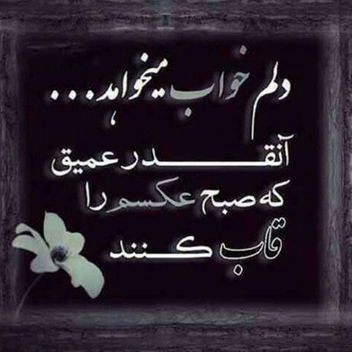 عکس پروفایل مرگ Persian Quotes Cool Words Persian Poem