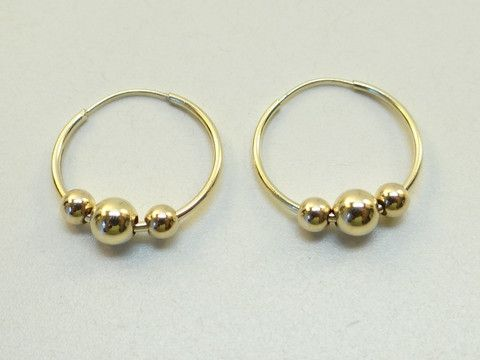 9 best Gold Earrings images on Pinterest