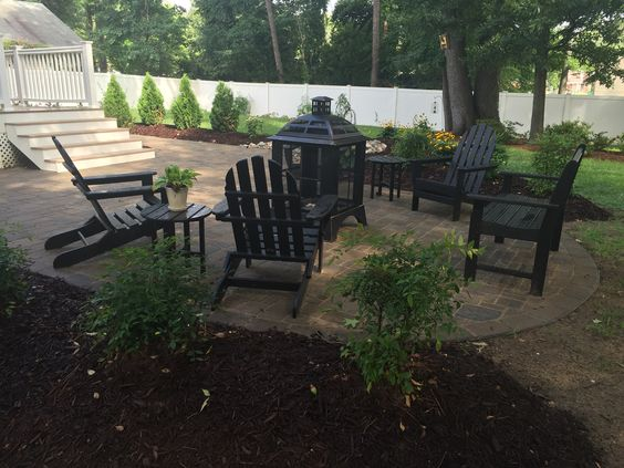 Backyard patio -groves