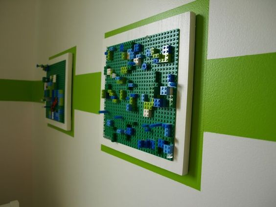 jongens creativiteit and lego kunst aan de muur on pinterest. Black Bedroom Furniture Sets. Home Design Ideas