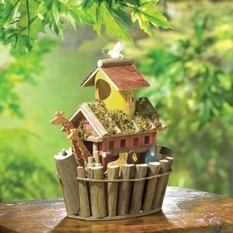 Noah`s Ark Birdhouse - AC Treasures | Scott's Marketplace