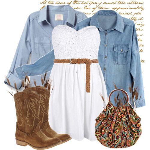 Vestido blanco es un must en verano, usalo con botas y denim. Busca más consejos en http://www.1001consejos.com/