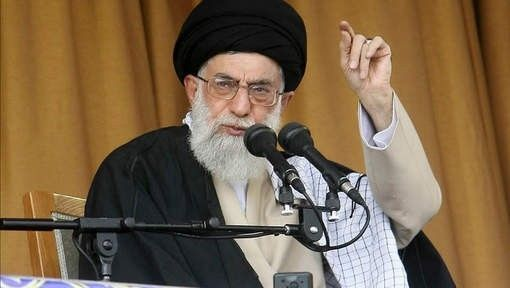 """TEHRAN - Iran highest ranking leader, Ayatollah Ali Khamenei, told state media that """"if Iran wanted to make nuclear weapons, no worldly power could stop them"""".      Khamenei added however that his country is not building nuclear weapons because it goes ..."""