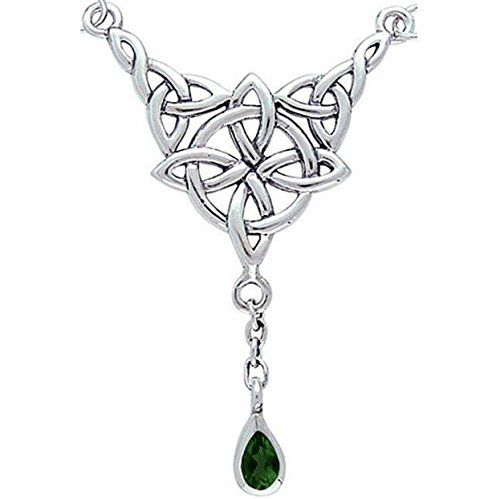 Sterling Silver Celtic Luck Knot Necklace with Emerald Pendant Jewelry CGC http://www.amazon.com/dp/app.toyburg.com/B00QPC97AQ/ref=cm_sw_r_pi_dp_UyhUub0YGHP02