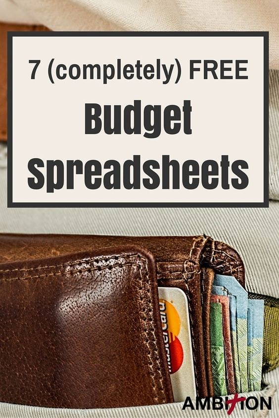 7 (completely Free Budget Spreadsheets Pinterest Biblical Budget