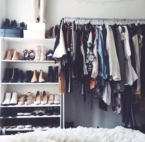 Functional closet for small spaces