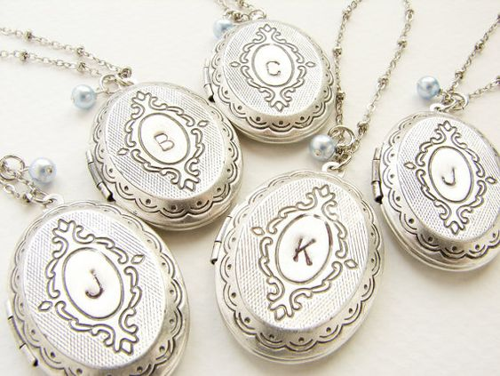 Hey, I found this really awesome Etsy listing at https://www.etsy.com/listing/121737931/bridesmaid-gift-initial-necklace