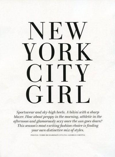 new york city girl (at heart)