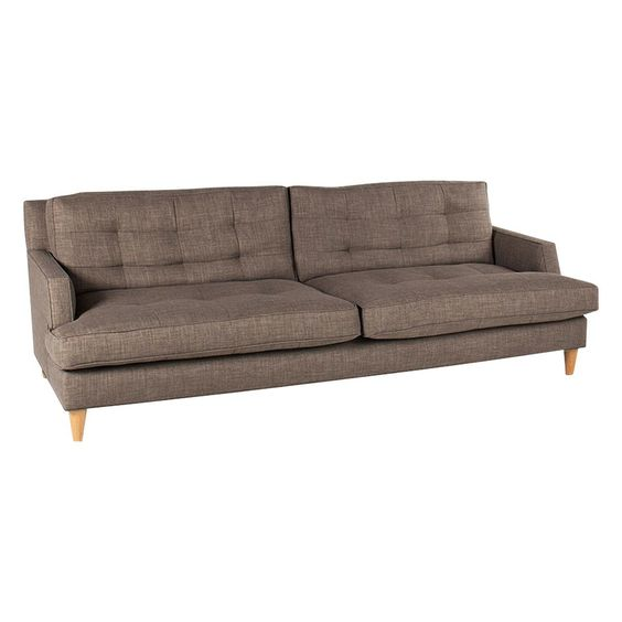 "HELMS PAULINE BRONZE SOFA - Sofas - Seating - Living - HD Buttercup Online – No Ordinary Furniture Store – Los Angeles & San Francisco Dimensions: 29 1/2"" BH x 22""AH x 17"" SH x 91"" L x 24"" D  Product SKU: 700100571"