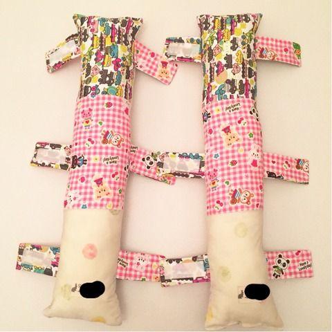 作り方 今流行りのシートベルト枕 アイラブ子育て 今できること 枕の作り方 シートベルト 座布団 作り方