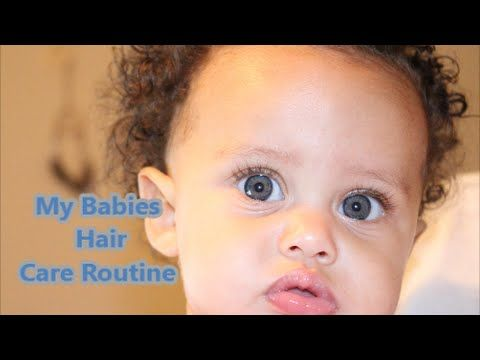 How to Moisturize your infants Hair (Hair Care Routine)