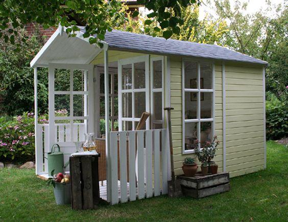 gartenhaus modell laura englische gartenh user pinterest. Black Bedroom Furniture Sets. Home Design Ideas